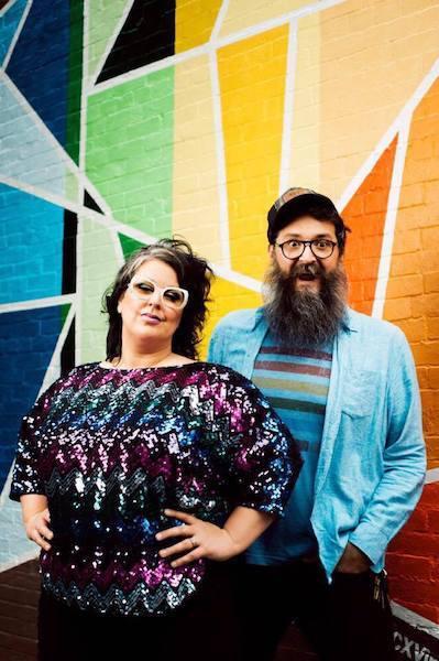 Sarah Potenza and Ian Crossman